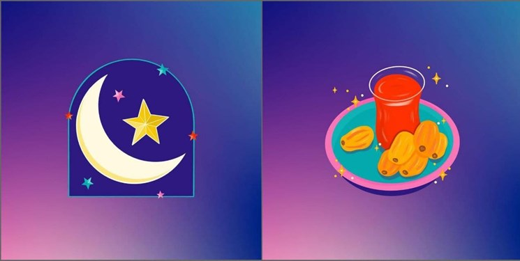 استیکرهای رمضانی اینستاگرام
