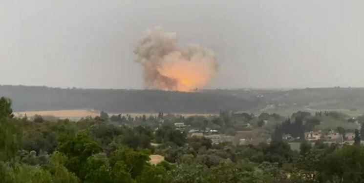 انفجار در کارخانه اسرائیلی