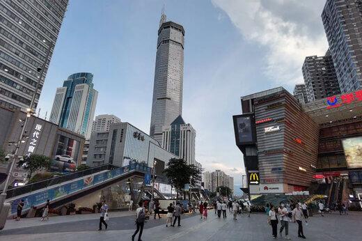 آسمان خراش چین