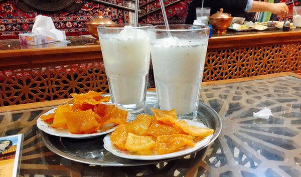غذایهای عجیب غریب ایرانی را بشناسید/از سوپ بنفش تا دلمه سیرابی