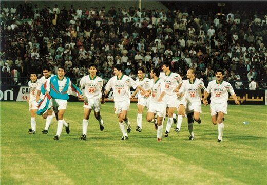 عکس قدیمی از تیم ملی ایران