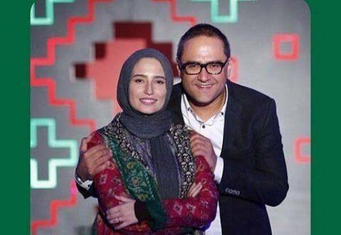 رامبد جوان و همسرش نگار جواهریان
