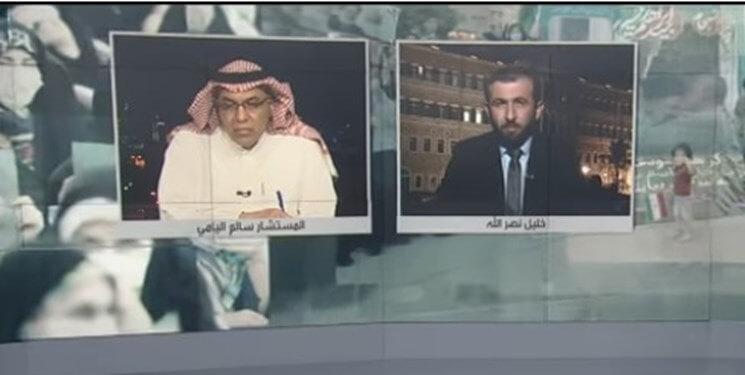 کارشناس سعودی در شبکه روسیا الیوم