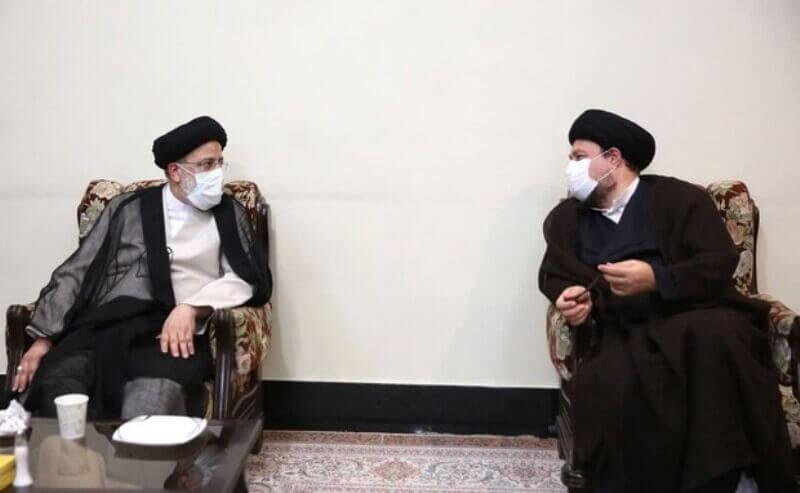 دیدار رییسی و سید حسن خمینی