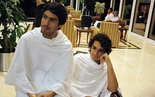 بازیکنان ایرانی در مکه