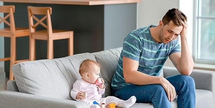 افسردگی بعد از زایمان پدران