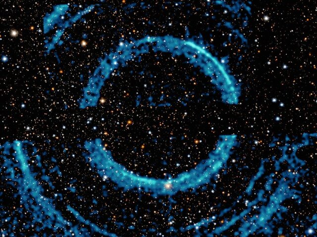 حلقه های دور سیاهچاله