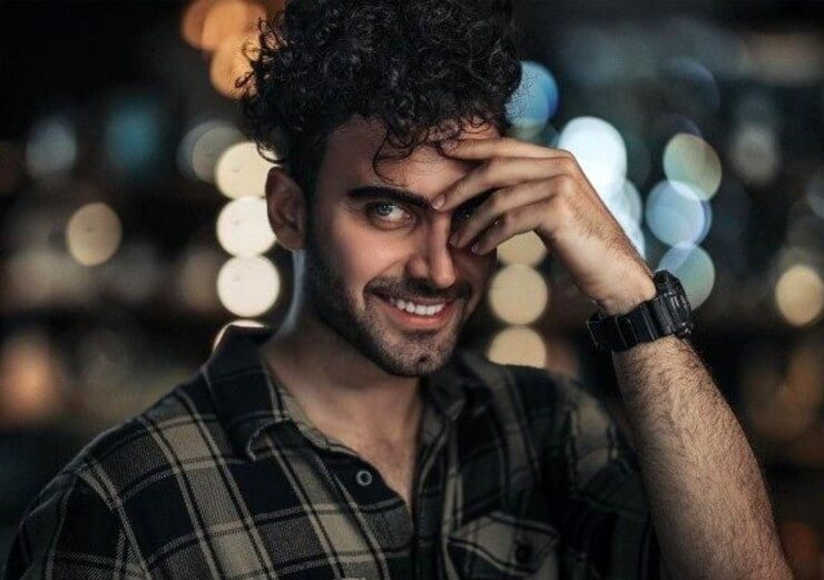 محمد صادقی بازیگر نقش پیمان در سریال افرا