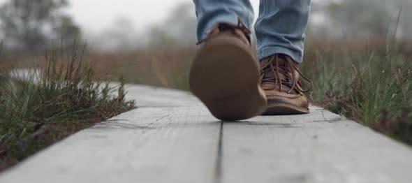 راه رفتن