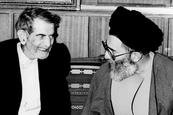 استاد شهریار و رهبر انقلاب