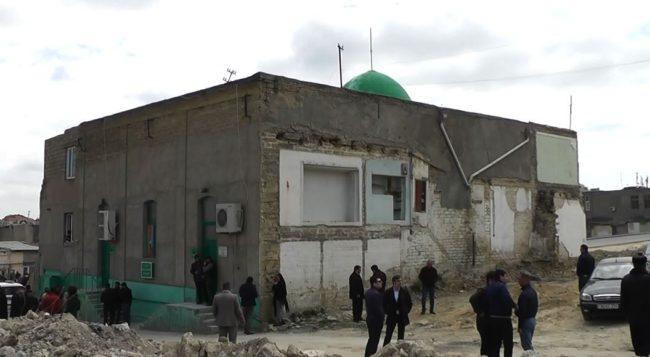 تخریب مسجد در باکو