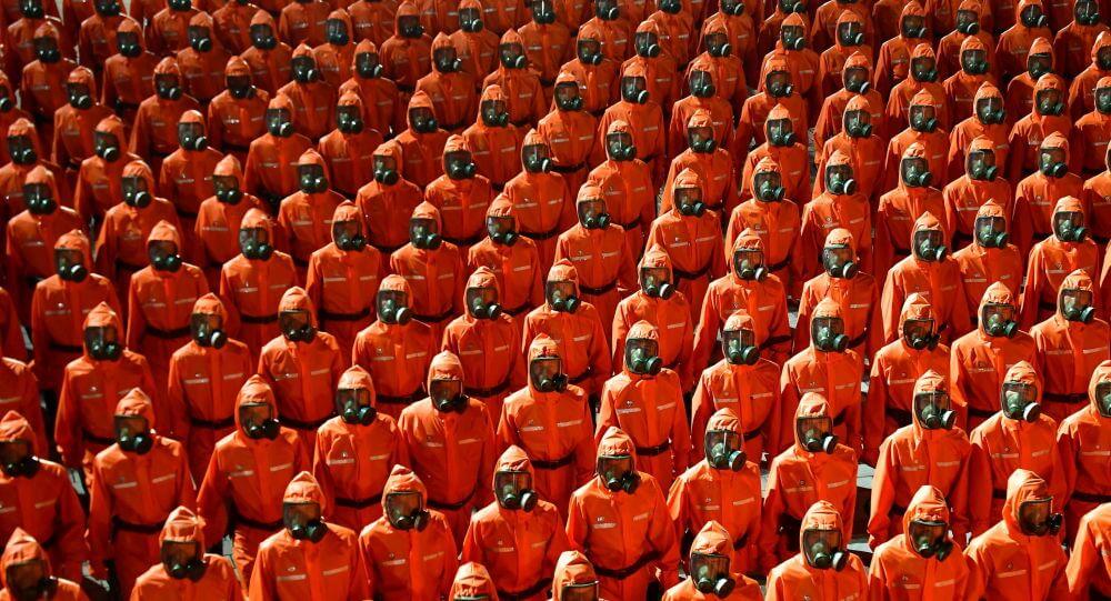 سربازان کره شمالی